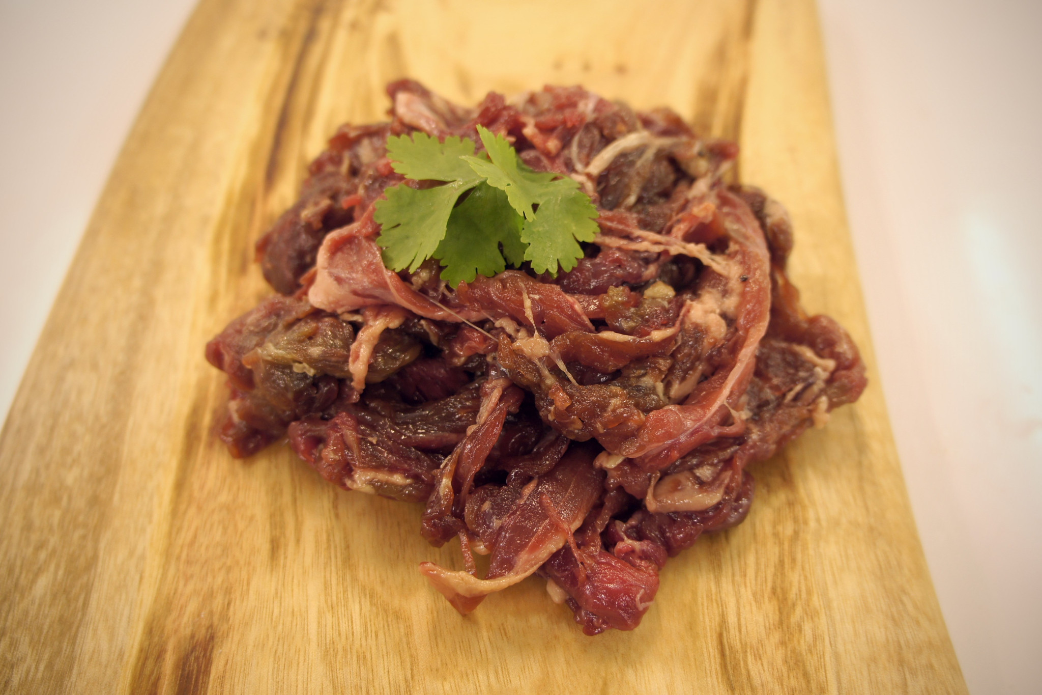 Side View of Beef Bulgogi
