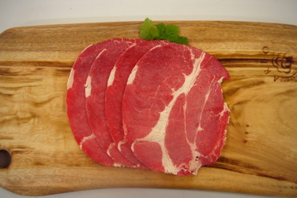 Top View of Beef Shabu Shabu