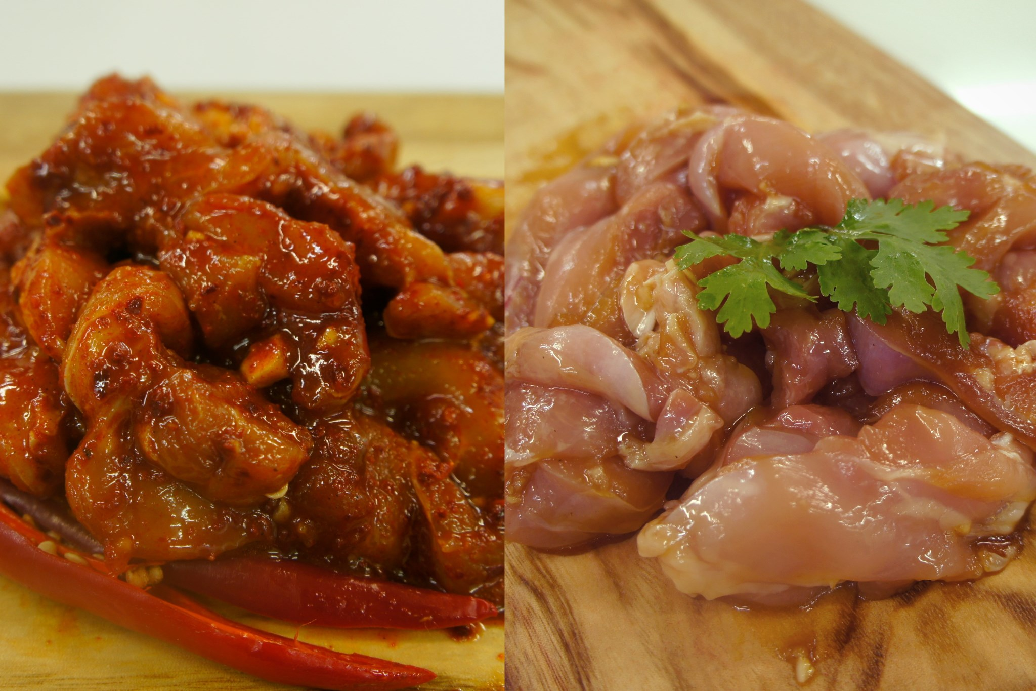 Chilli Chicken & Soy Chicken