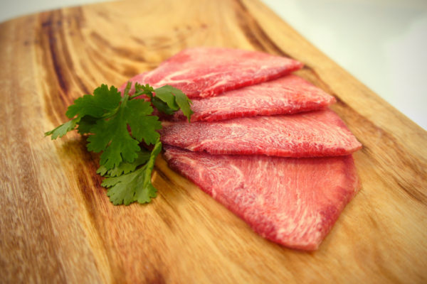 Side View of Ox Tongue